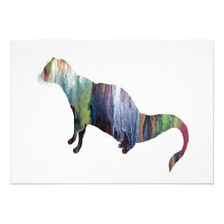 Mongoose art photo print