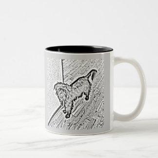 Mongrel Cup Two-Tone Mug