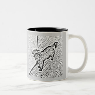 Mongrel Cup Two-Tone Mug
