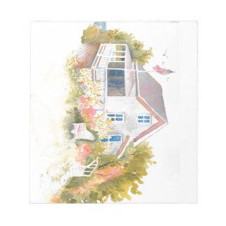 Monhegan Cottage J Kilburn Notepads