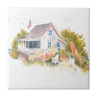 Monhegan Cottage J Kilburn Tiles