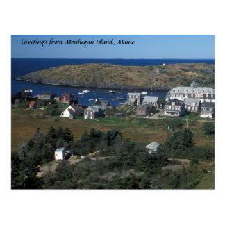Monhegan Island, Maine Postcard