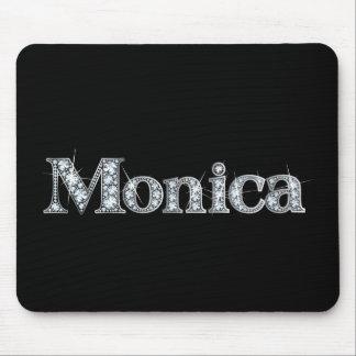 "Monica Faux-""Diamond Bling"" Mousepad"