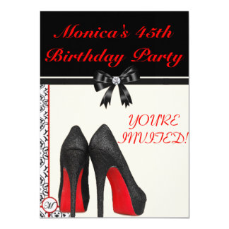 Monica's 45th Birthday Invite