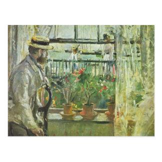 "Monisot's ""Eugene Manet"" postcard"
