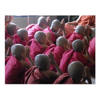 Monk Postcard