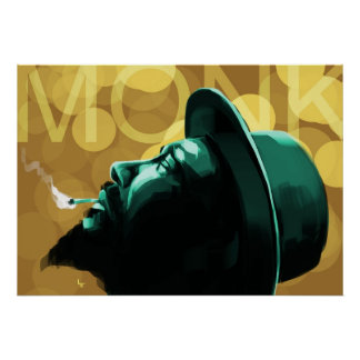 Monk Poster