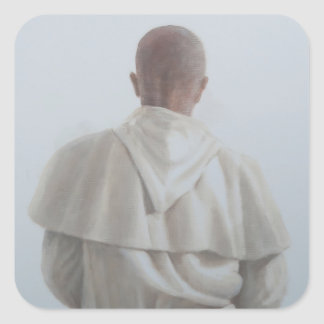 Monk Sant'Antimo II 2012 Square Sticker