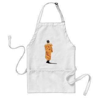 Monk Walking Standard Apron