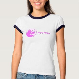 Monkee fâché - rose t shirts