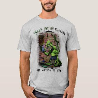 Monkees psychopathe vert t-shirt