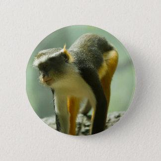Monkey 2 Inch Round Button