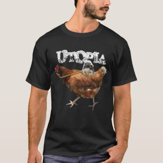monkey and chicken, UTOPIA T-Shirt