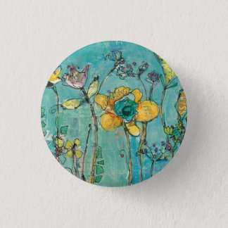 Monkey and Mommy 1 Inch Round Button