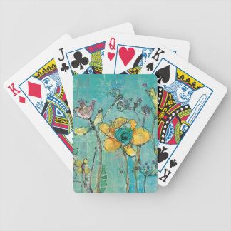 Monkey and Mommy Bicycle Playing Cards