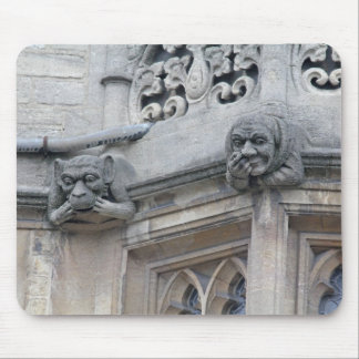 Monkey and nose-picker grotesques mousemat mouse pad