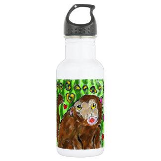 Monkey art 532 ml water bottle