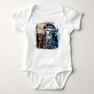 Monkey Baby Jersey Bodysuit, White Baby Bodysuit
