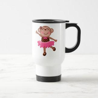Monkey Ballerina Coffee Mugs
