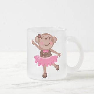 Monkey Ballerina Mug