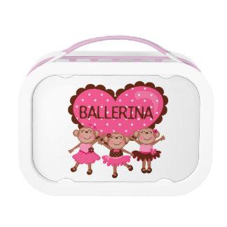 Monkey Ballerinas Lunch Box