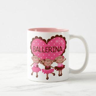 Monkey Ballet Coffee Mugs