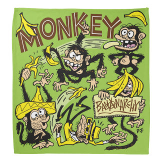 MONKEY - Bananarchy! Bandana