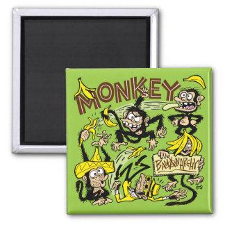 Monkey - Bananarchy! Magnet