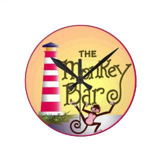 Monkey Bar Clock