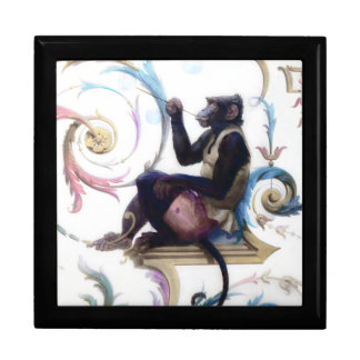 Monkey Blowing Bubbles Gift Boxes