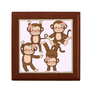 Monkey Box Jewelry Boxes