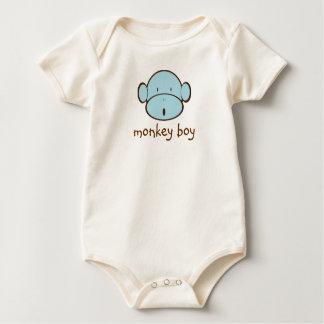 Monkey Boy Baby Bodysuit