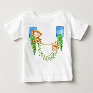Monkey Boy Baby T-Shirt