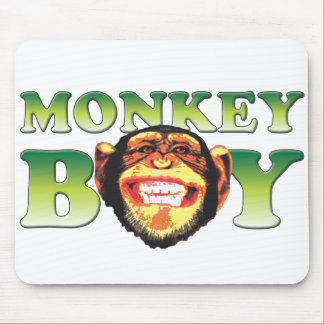 Monkey Boy Mouse Pad