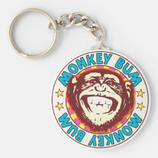 Monkey Bum Keychain