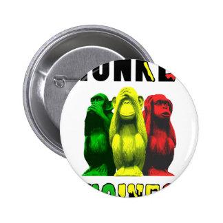 Monkey business 2 inch round button