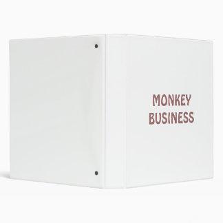 MONKEY BUSINESS 3 RING BINDERS