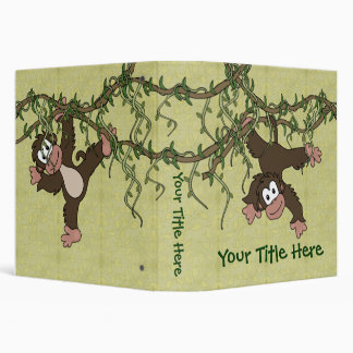 Monkey Business 3 Ring Binders
