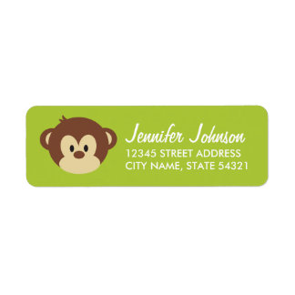 Monkey Business Address Labels