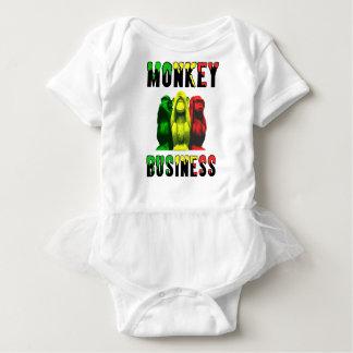 Monkey business baby bodysuit