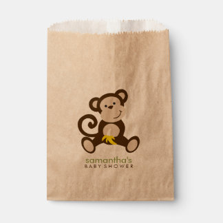Monkey Business Baby Shower Favour Bag