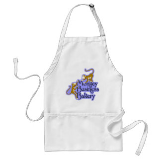 Monkey Business Bakery Standard Apron