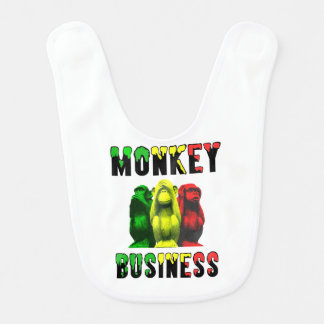 Monkey business bib