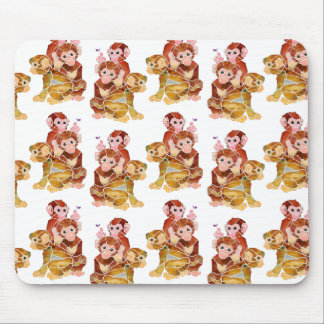"""""""Monkey Business"""" Mouse Pad"""