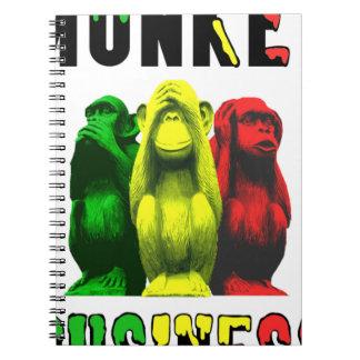 Monkey business notebook