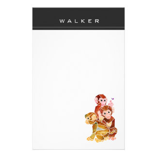 """Monkey Business"" Stationery"