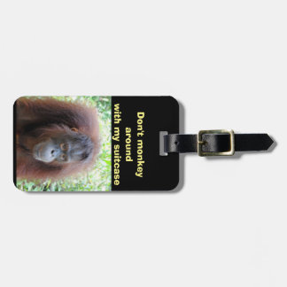 Monkey Business to Prevent Lost Luggage Luggage Tag