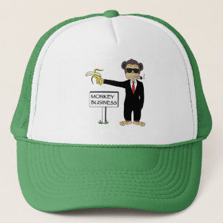 Monkey Business Trucker Hat
