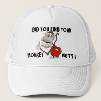 MONKEY BUTT TRUCKER HAT