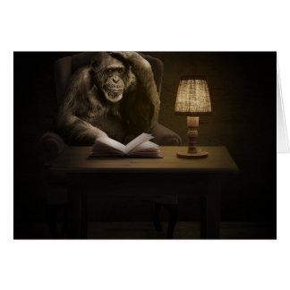 Monkey Chimpanzee Ape Card